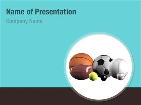 Sport Balls Powerpoint Templates Sport Balls Powerpoint Backgrounds Templates For Powerpoint Sports Powerpoint Template