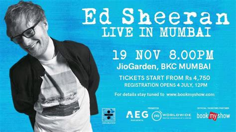 ed sheeran live in singapore 2017 yes your favourite ed sheeran india tour tickets go live in minutes