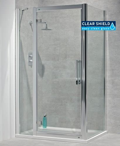 1100mm Shower Door Avante 8mm 1100mm Hinged Shower Door And Single Infill Panel Adjustment 1040 1100mm