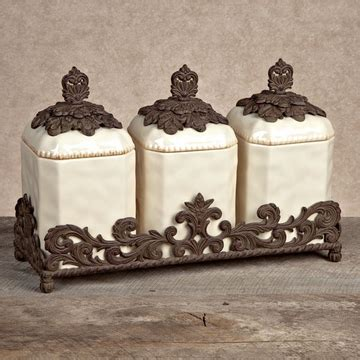 decorative canister sets kitchen kitchen canisters canister sets from gg collection