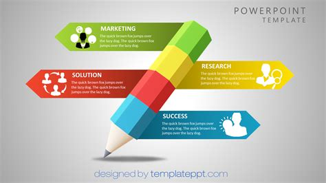 Presentation Templates Powerpoint Free timeline with 6 steps for powerpoint powerpoint