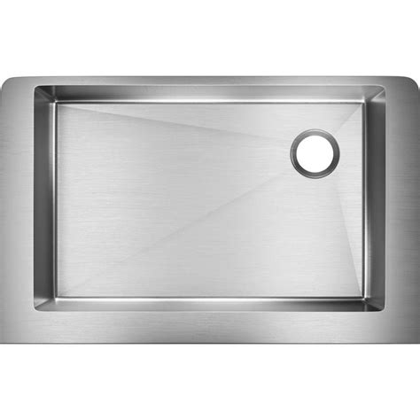 elkay crosstown apron sink elkay crosstown farmhouse apron front stainless steel 31