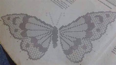 tende con applicazioni all uncinetto bellissime applicazioni di farfalle all uncinetto con