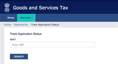 Status Search By Number Gst Arn Number Status Gst Arn Status Tracking Gst Arn Number