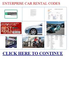 Car Rental Usa Enterprise Enterprise Car Rental Codes Entertainment Book