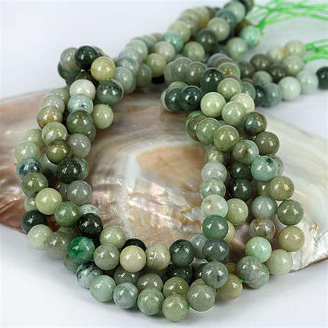 real jade skj jewelry real jade gemstone bead strand 8mm