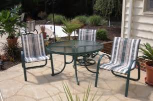 patio sling fabric replacement trellis textilene 174