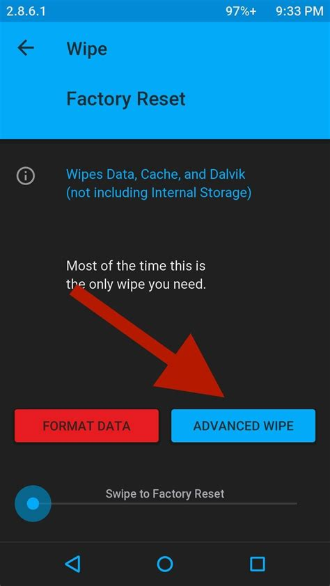 reset android keep data the best way to wipe data completely delete your data on
