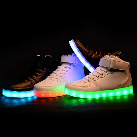 Sneakers With Lights by New Style Led Light Up Shoes Sneakers 183 Kawaii Harajuku Fashion 183 Store
