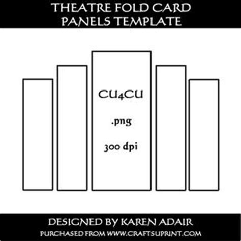 5x7 panel fold card template scallop gatefold card template cup233417 168 craftsuprint