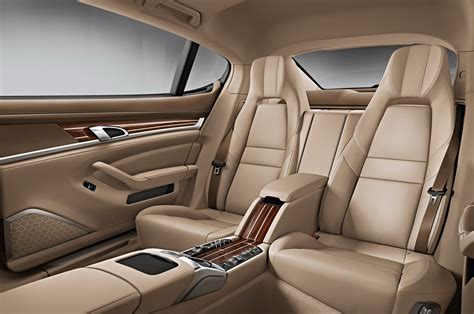 porsche panamera interior back seat updated 2014 porsche panamera details and pictures