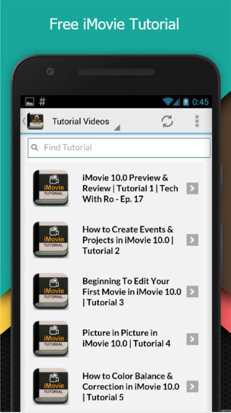 tutorial movie maker android best imovie tutorial android apps on google play