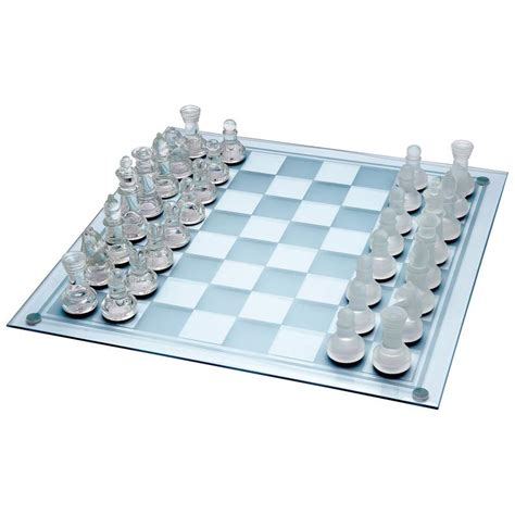 glass chess boards wholesale 33pc glass chess set buy wholesale chess sets