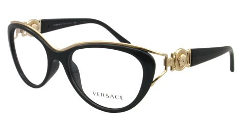 new versace eyeglasses ve 3167 black gb1 ve31567 ebay