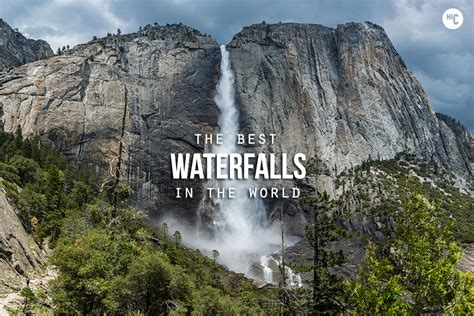 famous waterfalls in the world world s 25 most amazing waterfalls pictures