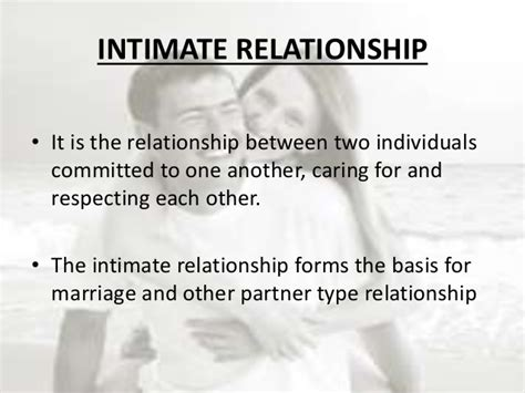 What Is A Relationship Unit 5 Therapeutic Communication And Interpersonal