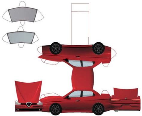 How To Make A Car With Paper - slot car news august 2006