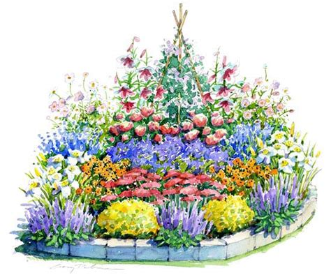 Cut Flower Garden Plan Beautiful Summer Garden Plan