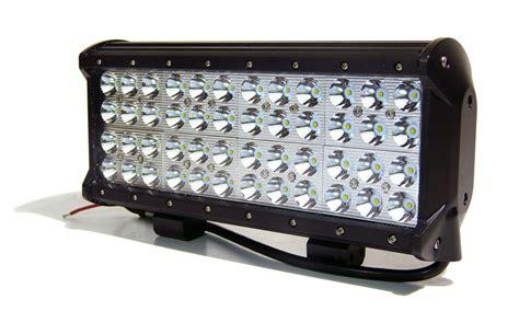 Spot Led Light Bar 4 Row 144w Led Light Bar 12 Inches Wide Spot Beam L Bottom Mount Ebay