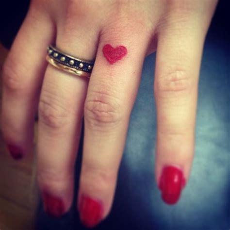 finger tattoo ink bleeding pinterest the world s catalog of ideas