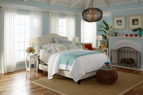 Beach cottage bedroom home bathroom country design