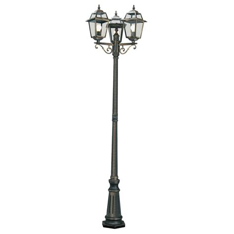 3 l post light outdoor searchlight 1528 3 orleans 3 light outdoor post