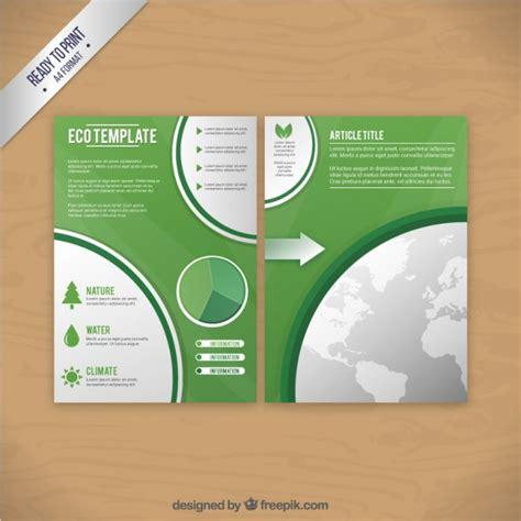 nature brochure template vector premium download eco brochure green template vector premium download
