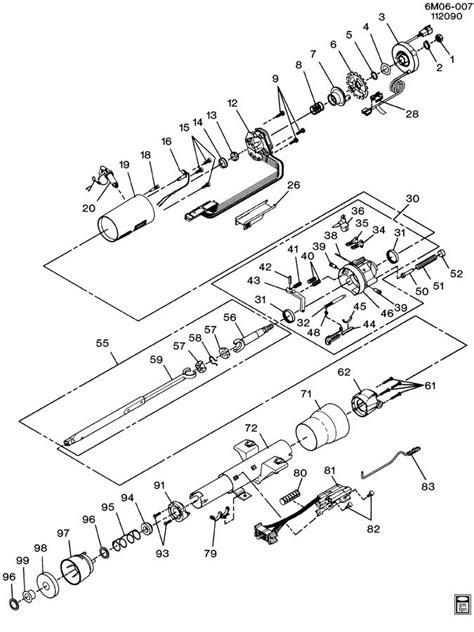 electric power steering 1989 buick estate parental controls service manual 1990 buick estate tilt steering column repair 1990 1992 camaro steering