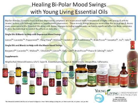 mood swings mental health healing bi polar mood swings young living essential oil