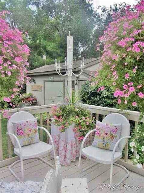 veranda shabby chic terrazze verande e giardini shabby idee per un estate il