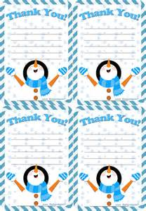 free thank you letter printable