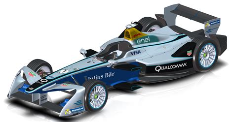 Rancing Car1 formula e race cars get new look for season three