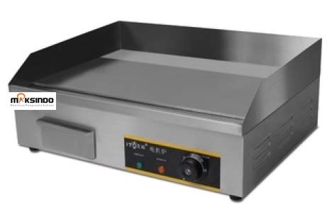 Pemanggang Daging Listrik jual mesin pemanggang griddle stainless toko mesin maksindo