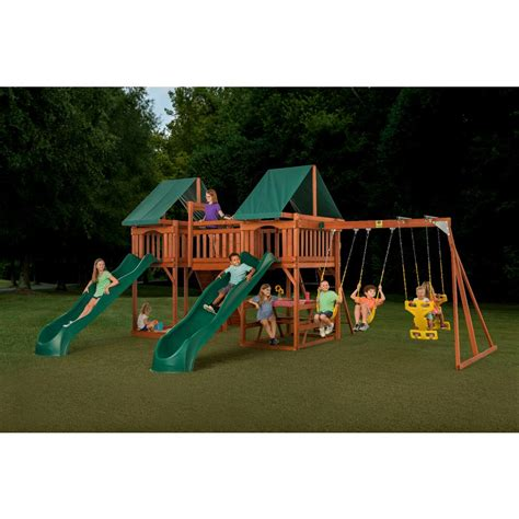 home depot swing sets for kids kids playhouses playsets swing sets the home depot