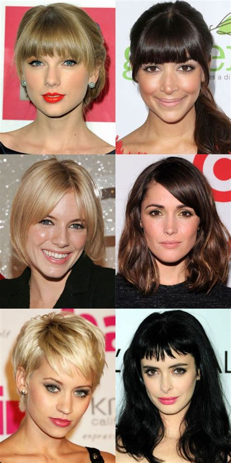 hairstyles bangs face shape 1000 ideas about bangs for oval faces on pinterest long