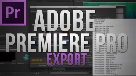 adobe premiere cs6 how to export best youtube export settings with adobe premiere pro cs6