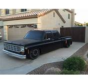 87 Bagged Crew Cab Short Bed Chevy Dually