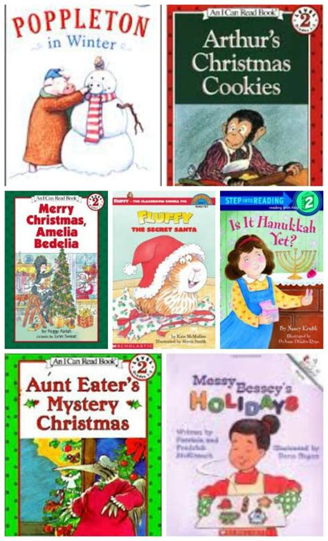 7 Great Books To Read The Holidays by Tips For Teaching To Read And Early Reader Books For