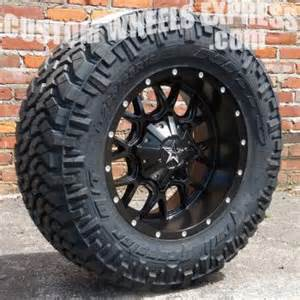 Jeep Rims And Tire Packages 18 Quot Dropstars 645b W 285 65r18 Nitto Trail Grappler Tires