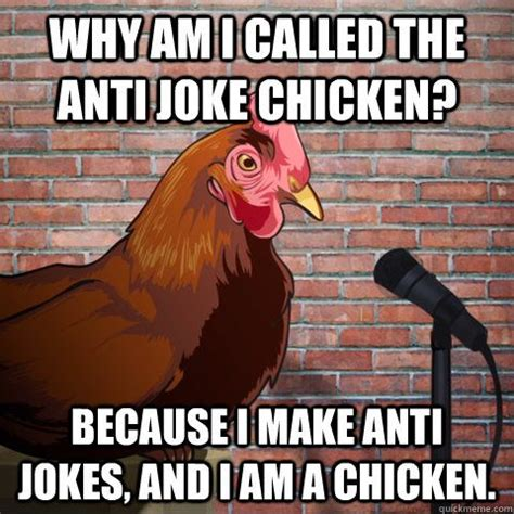 Anti Joke Chicken Meme Generator - 62 best anti jokes images on pinterest chistes funny