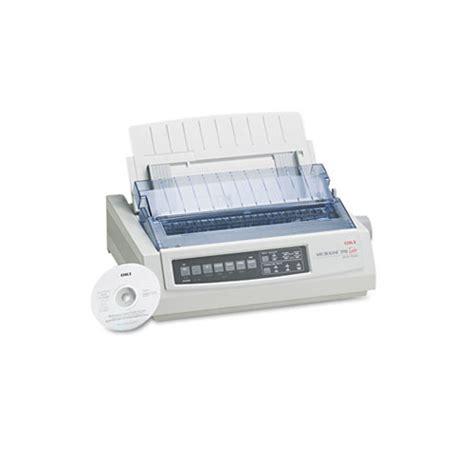 oki microline 390 24 pin dot matrix turbo printer oki62411901 shoplet