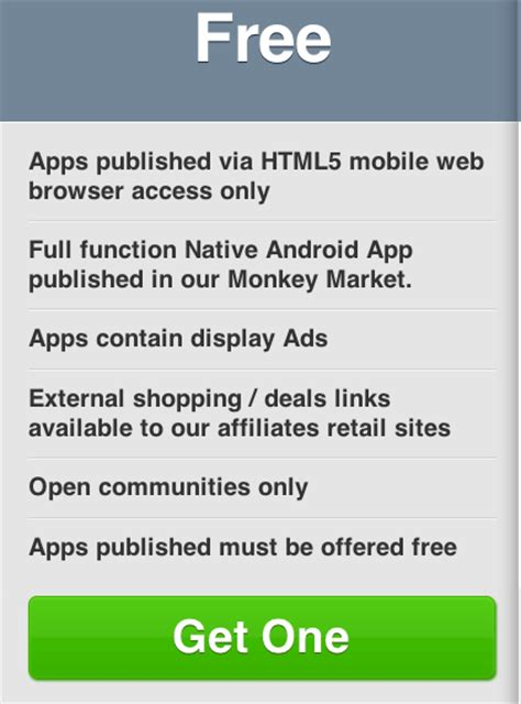 Design Your Own With No Coding Knowledge by Create Your Own Smartphone App With Infinite Monkeys No