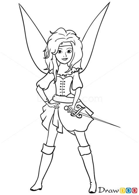 coloring pages pirate fairy pirate fairy drawing how to draw fairy pirate pirates