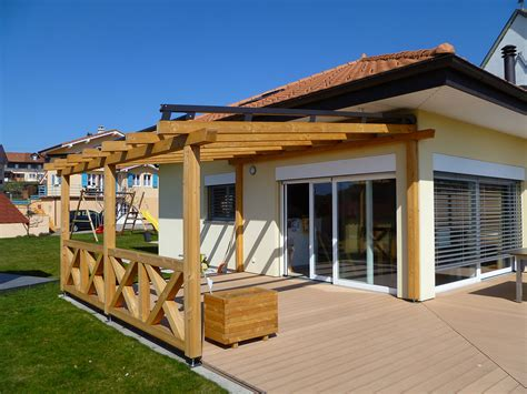 terrasse en ville retractable pergola penmie bee