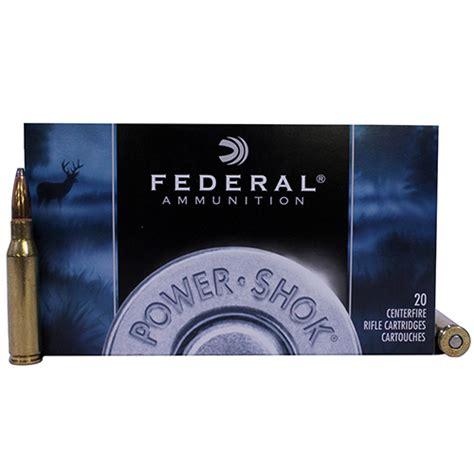 federal cartridge mm  rem gr sp power shok cs