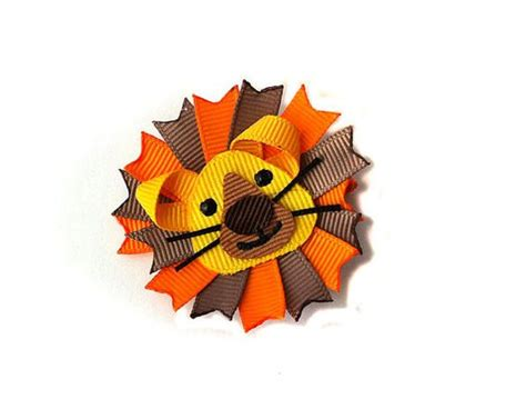 hairbows with ribbon sculpture pinterest ribbon sculpture lion and hair clips on pinterest