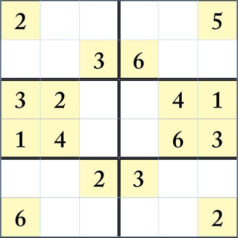 printable sudoku 6 x 6 6 x 6 sudoku printable pictures to pin on pinterest