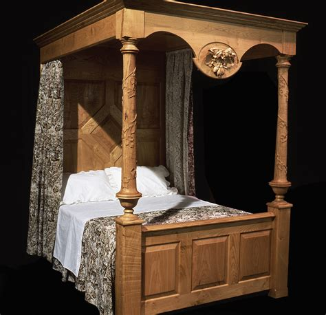 Handcrafted Furniture Uk - tester beds bespoke bedroom furniture bespoke beds four