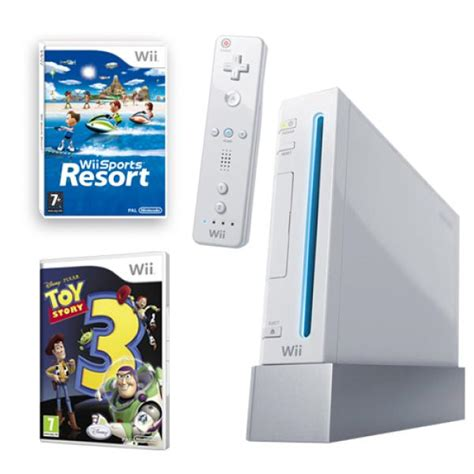 wii console sports resort bundle nintendo wii bundle including wii sports resort