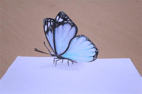 borboletas em 3d youtube como desenhar borboleta com efeito 3d simples youtube